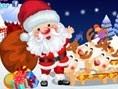 Noel Dede Giydirme Oyunu