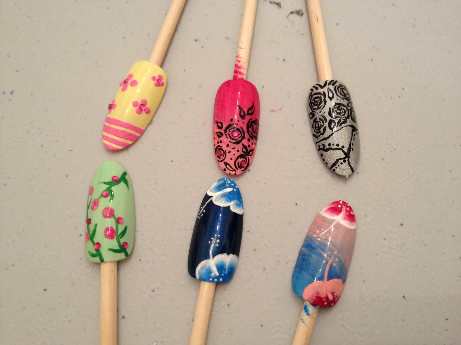 Ateliers nail art Décembre et Janvier23