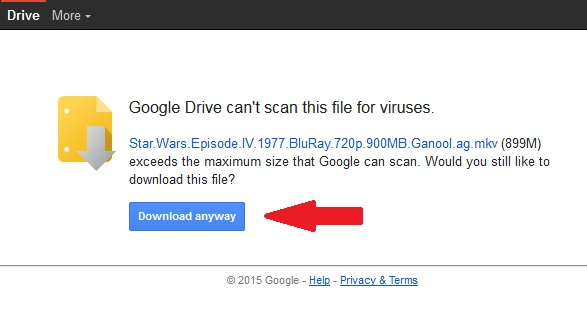 how to view biggest files on google drive