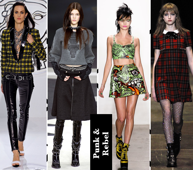 Women's Fall 2013/2014 Trends- Punk and Rebel