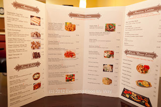 Amber Li's Menu