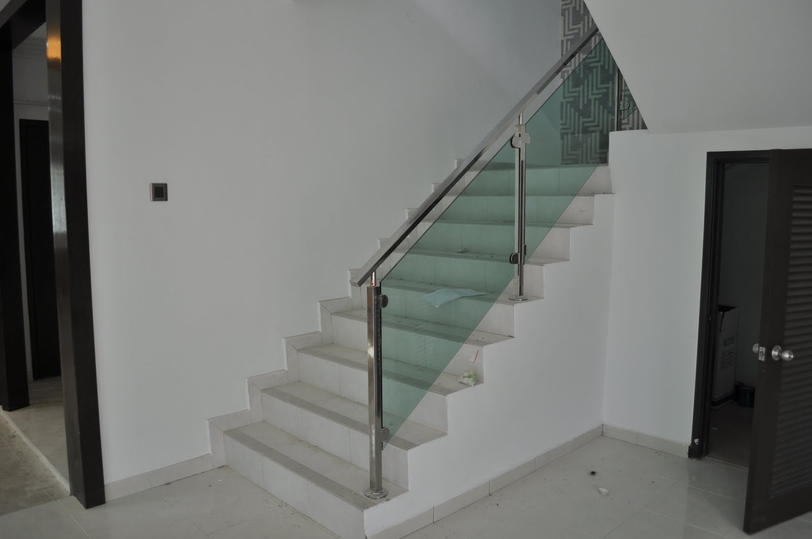 Mica interior design and construction project 1 bandar - Interior stair railing contractors ...
