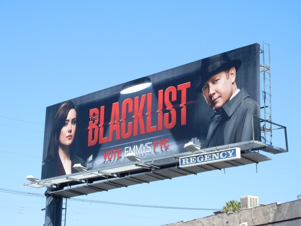 The Blacklist 2015 Emmy FYC billboard