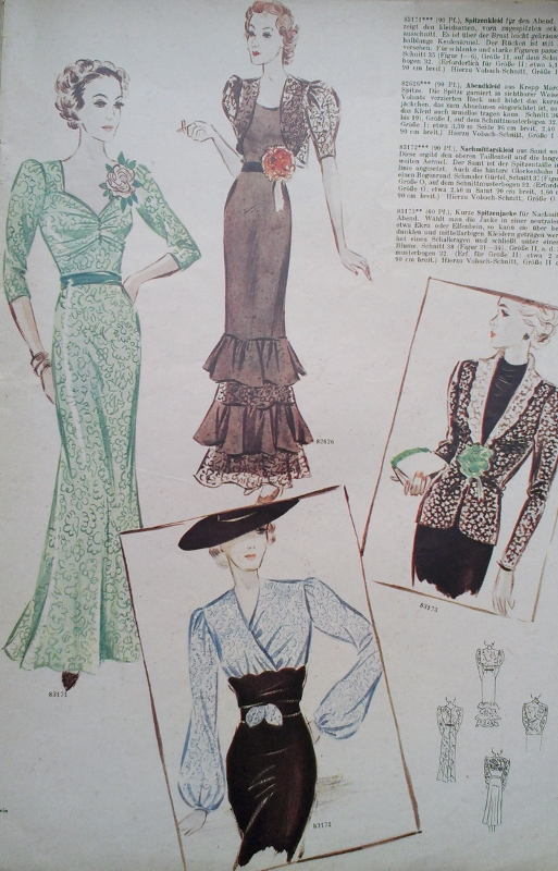 Sew Something Vintage For Sale 1930s German Sewing Pattern Magazine