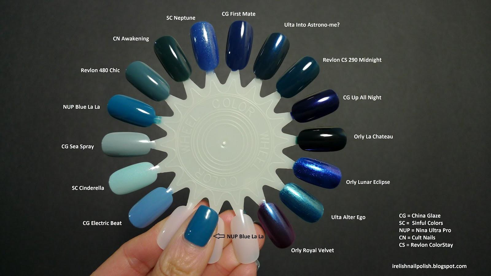 I Relish Nail Polish!: Nina Ultra Pro - Blue La La