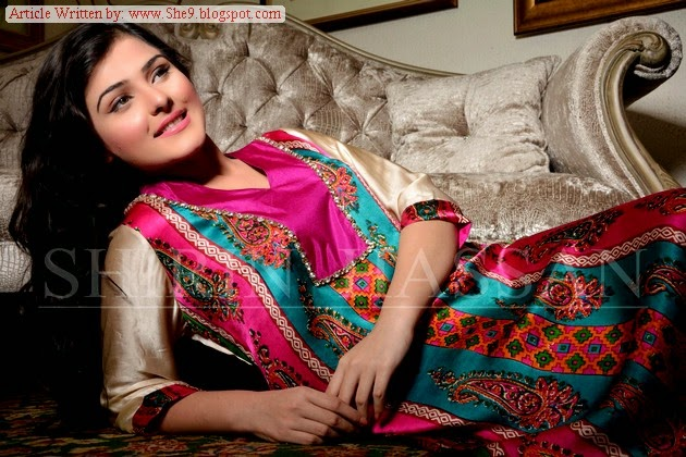 Shirin Hassan Eid Suit Designs