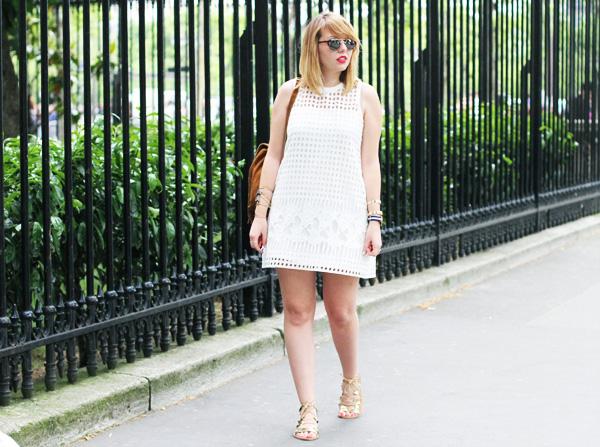 Blog mode robe ajourée zara