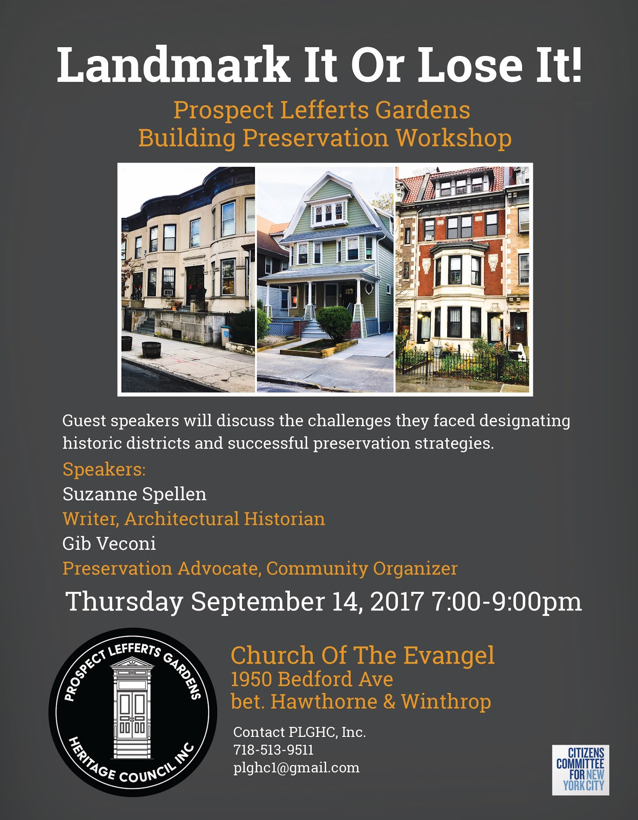 Landmarking Workshop - 9-14