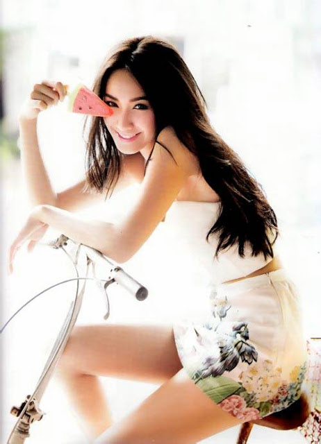 Thailand Actress and Model - Pechaya Watanamontri (Min)