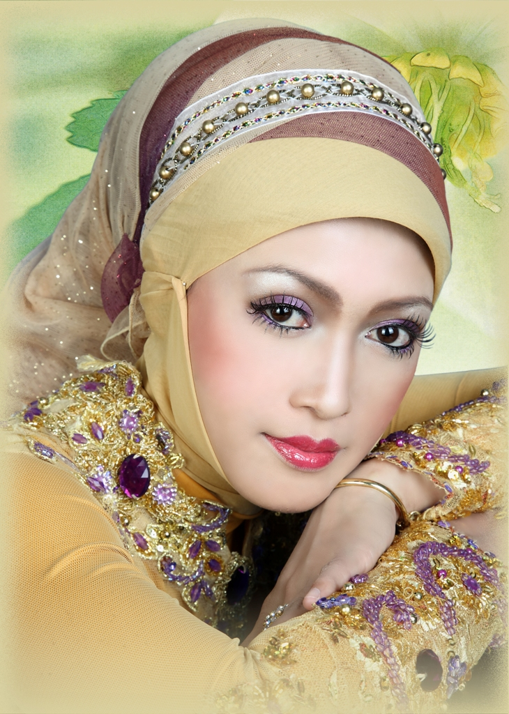 Kecantikan Muslimah Alyaa Dhiyaa: Aneka Kebaya Pengantin Muslimah