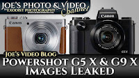 New Canon Powershot G5 X & G9 X Images Leaked | Joe's Video Blog