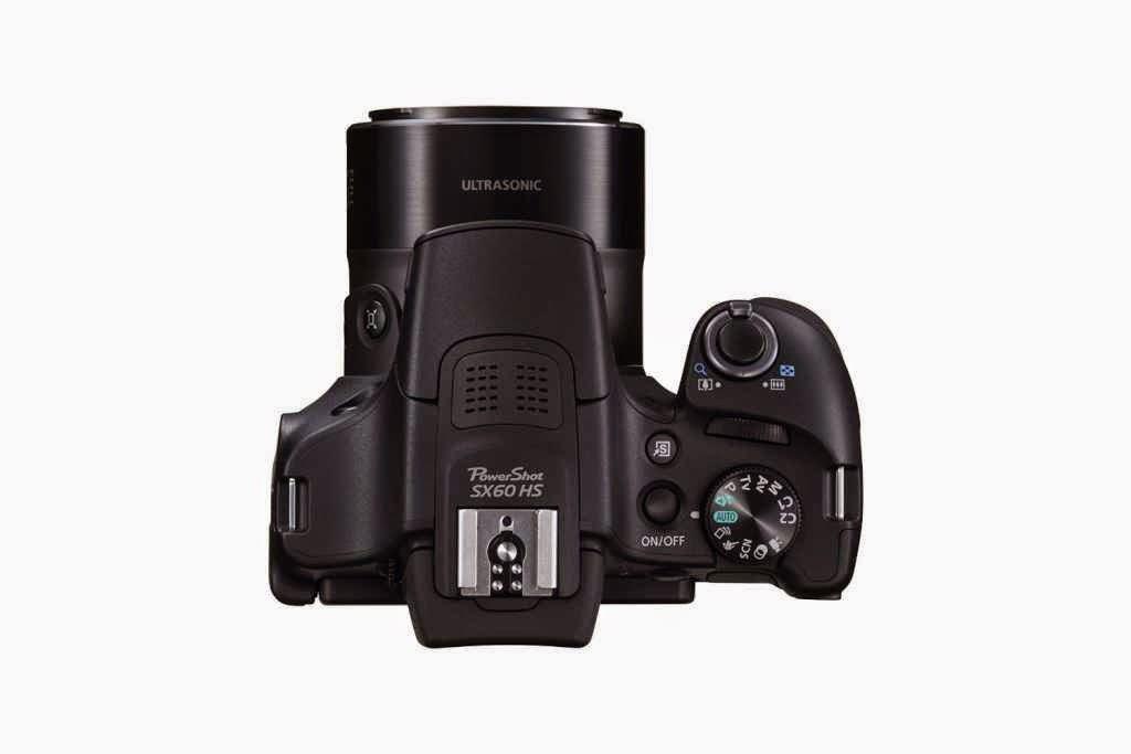 Canon SX60 HS atas