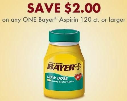 Bayer aspirin coupon 2018