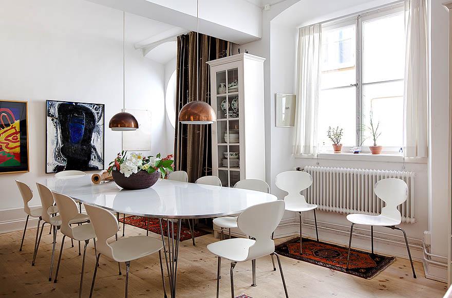 M ydeas decoration d 39 interieur un appartement chaleureux stockholm - Deco interieur chaleureux ...