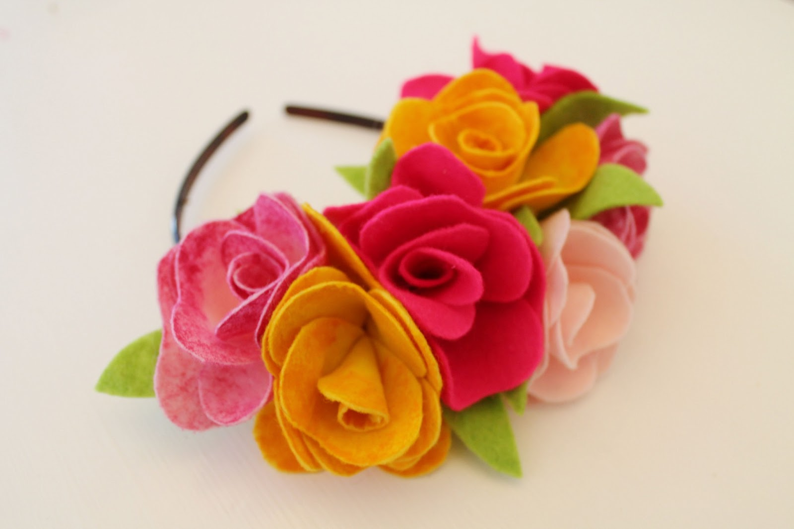 Diy fabric flower crown izmirmasajfo