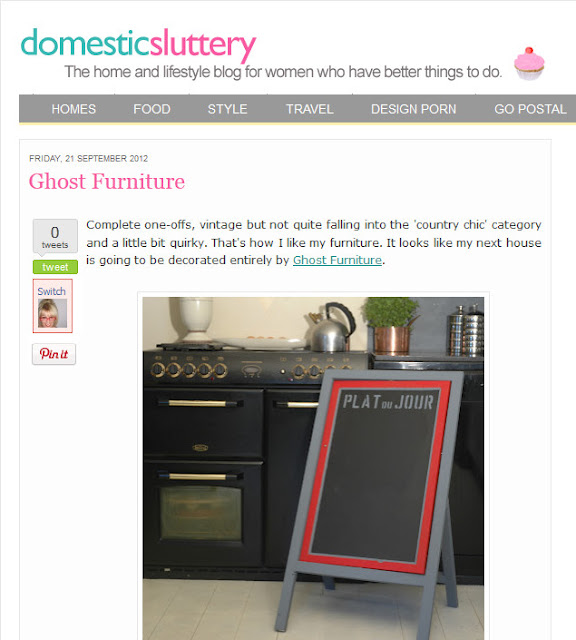 ghost furniture at domestic sluttery