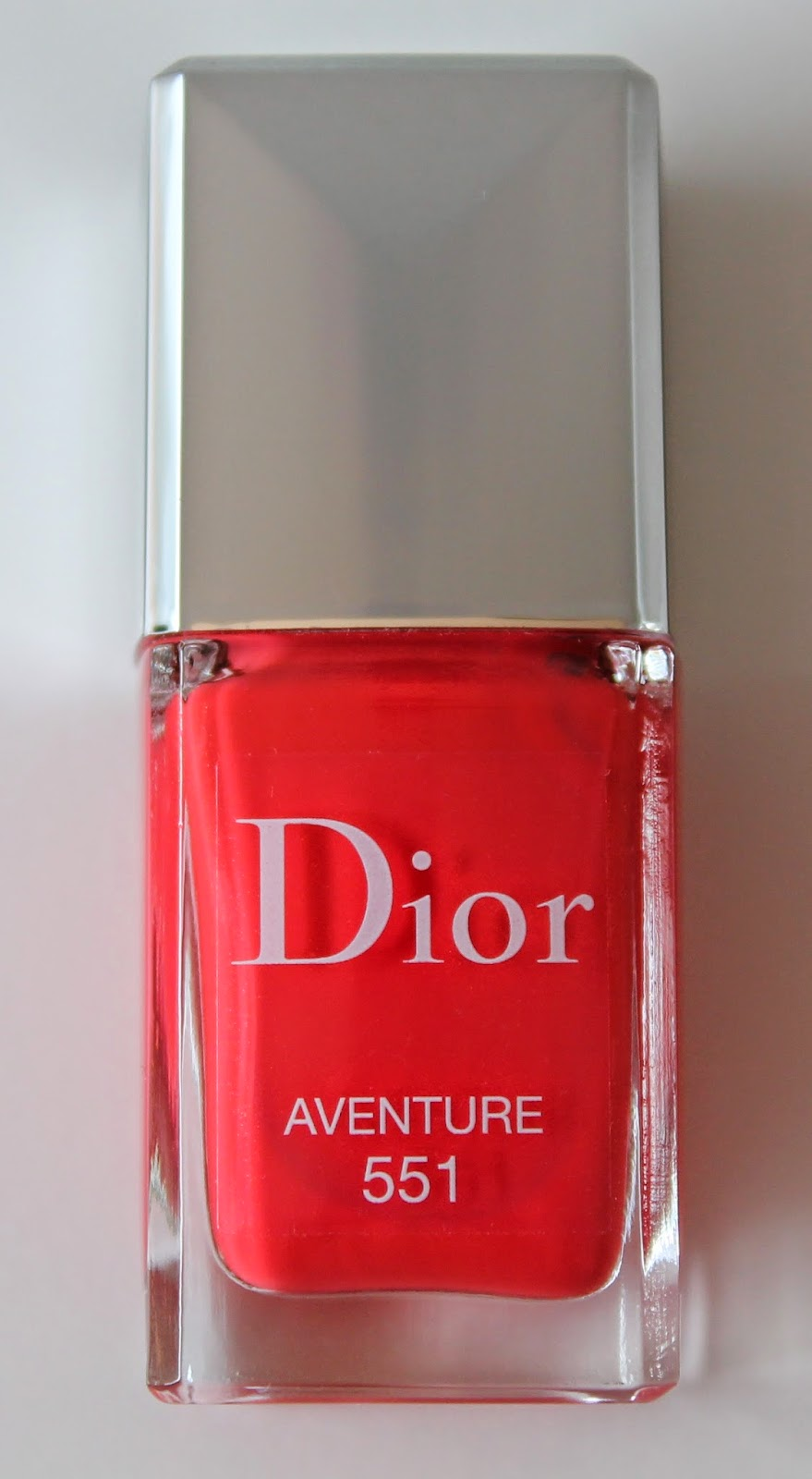 Dior Vernis Couture Coulour Gel Shine And Long Wear Nail Lacquer 551Aventure
