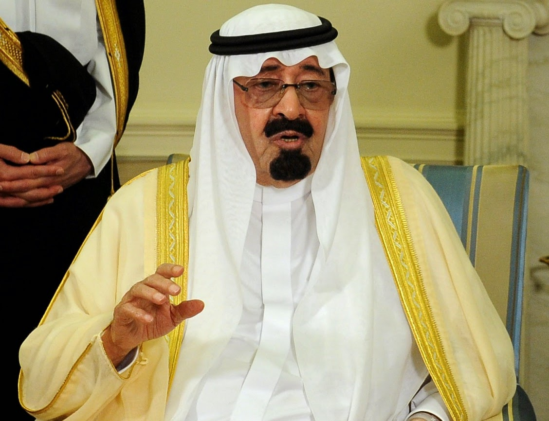 saudi arabias king abdullah bin abdulaziz dies