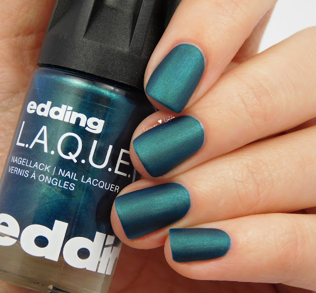 edding L.A.Q.U.E - Major Midnight Blue