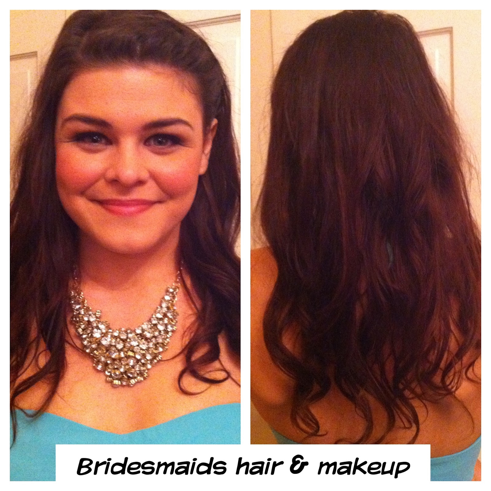 Bridesmaid Hair & Makeup Ideas