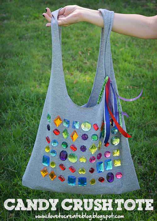 Candy Crush T-shirt Tote