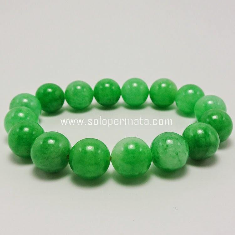 Gelang Batu Permata Giok Jadeit Jade