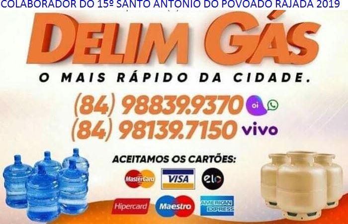 PUBLICIDADE: DELIM GÁS CARNAÚBA DOS DANTAS