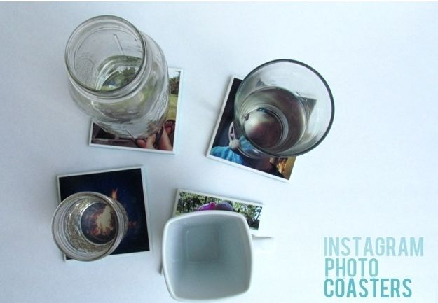 Instagram Photo Coasters
