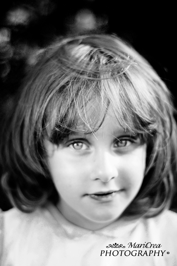 Little girl's portrait.