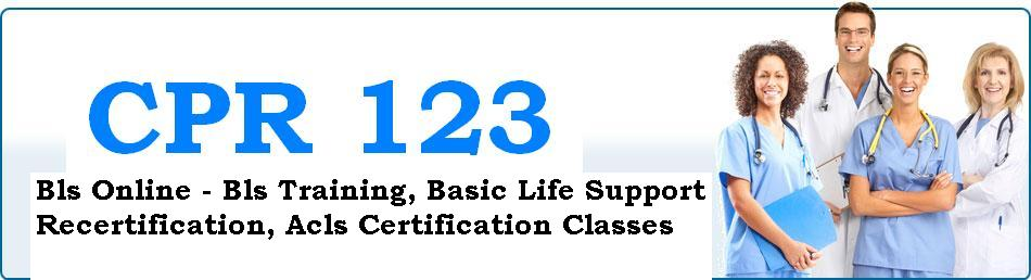 bls certification training cpr acls basic classes recertification support wednesday march staff save