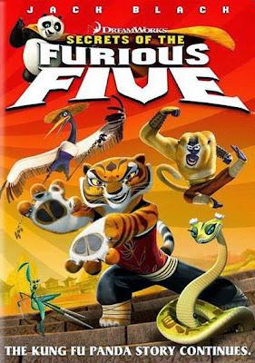 Kung Fu Panda Secrets Of The Furious Five 2008 Dual Audio [Hindi - Eng ] HDTV Rip 720p 200mb