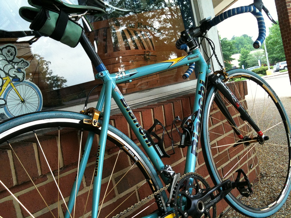 Bianchi Bikes Charlotte Nc This is Barry s personal bike