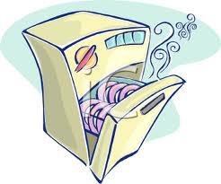 Empty Dishwasher Clipart