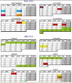 Calendario Académico Oficial