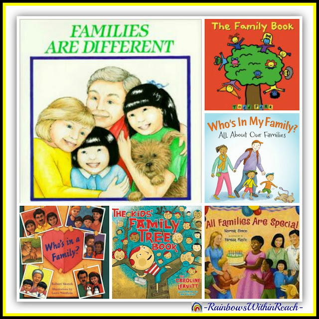 """All Things """"Family"""" (Children's Art + Picture Books) via RainbowsWithinReach"""