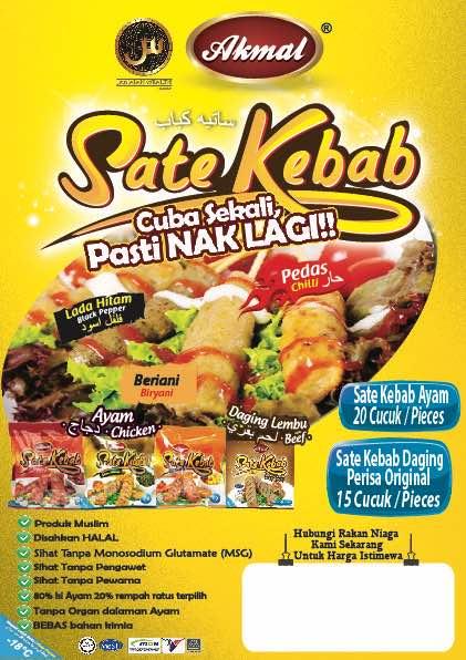 Sate Kebab Akmal