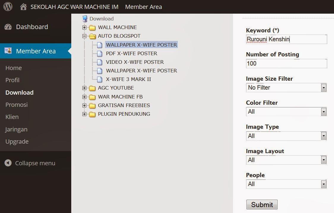Cara Cepat Membuat Blogspot Wallpaper