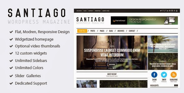 Premium Responsive WordPress Magazine Theme