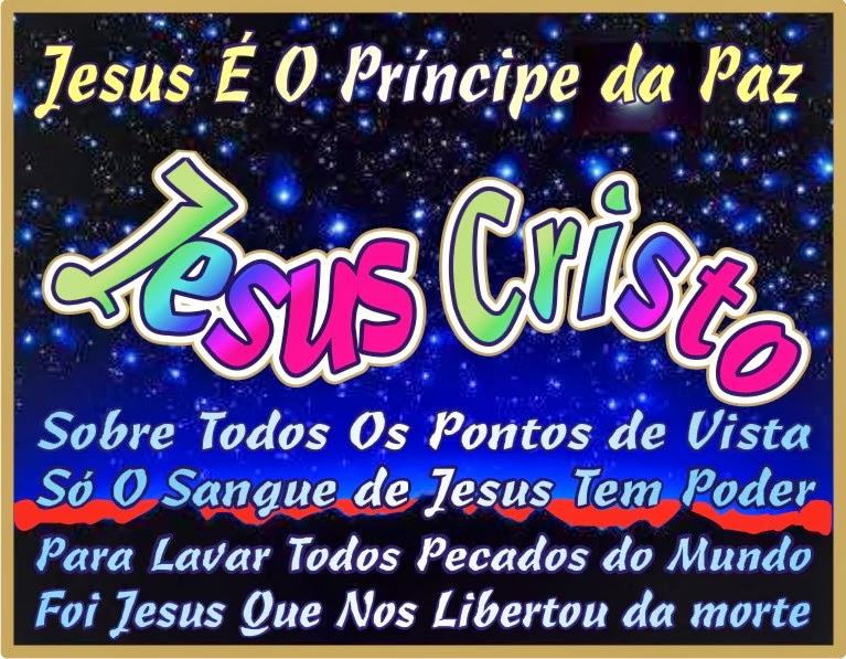 Jesus É O Príncipe da Paz O Filho Unigênito do Altíssimo