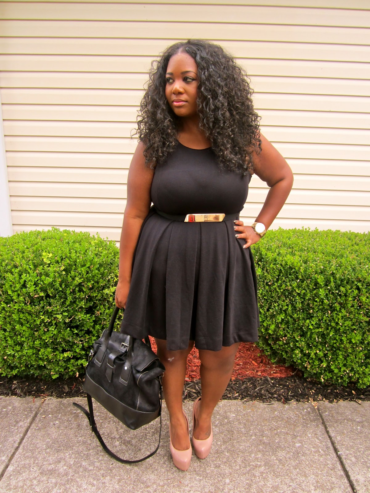 PocketsandBows: Sunday OOTD: The Skater Dress