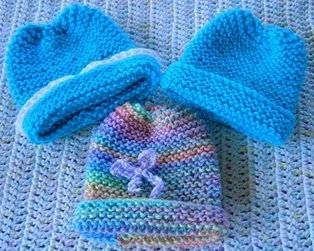 Knitting Pattern For Baby Hats With Circular Needles : BABY HAT KNITTING PATTERNS CIRCULAR NEEDLES   KNITTING PATTERN