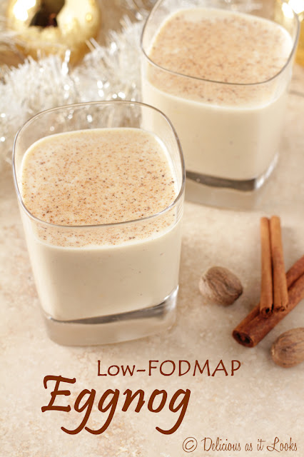 Low-FODMAP Eggnog {Lactose-Free, with a Vegan Option}  /  Delicious as it Looks