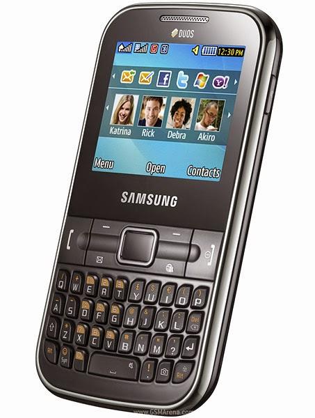 Samsung Ch@t 322 Fash Files
