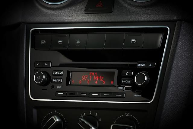 Novo Gol G6 2013 - console central