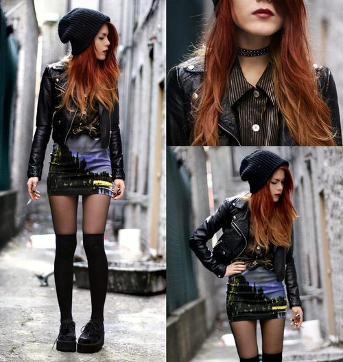 Autriches To Inspire Look Rocker By Le Happy