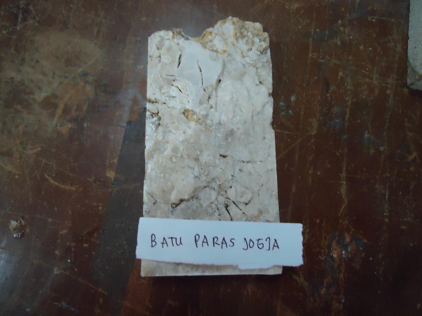 Batu Paras ~ Studi Bahan Bangunan Universitas Diponegoro