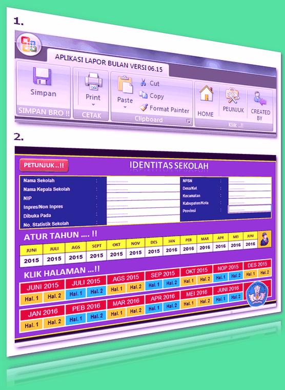 Aplikasi Untuk Membuat Laporan Bulanan Menggunakan Excel 2016