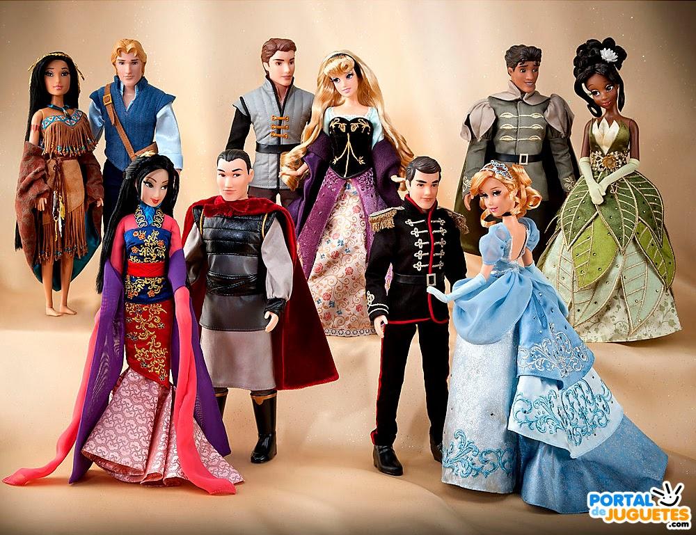 Muñecas Disney Fairytale Designer Couples Segunda Edicion