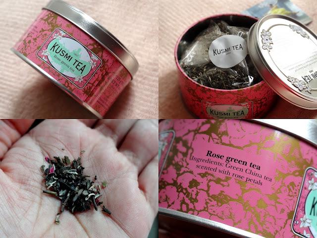 Kusmi Rose Green Tea for Breast Cancer Awareness Month