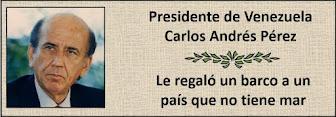 Presidente Venezolano Carlos Andrés Perez